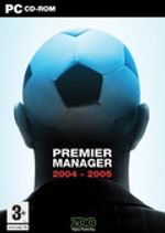 Jaquette Premier Manager 2004-2005
