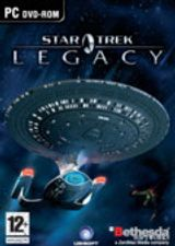 Jaquette Star Trek : Legacy