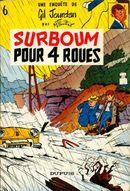Couverture Surboum pour 4 roues - Gil Jourdan, tome 6