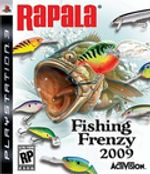 Jaquette Rapala Fishing Frenzy 2009