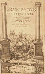 Couverture Novum Organum