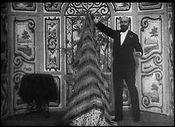 Affiche Escamotage d'une dame au théâtre Robert Houdin