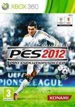 Jaquette Pro Evolution Soccer 2012