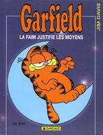 Couverture La faim justifie les moyens - Garfield, tome 4