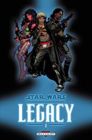 Couverture Question de confiance - Star Wars : Legacy, tome 2