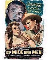 Affiche Des souris et des hommes