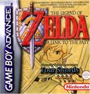 Jaquette The Legend of Zelda : A Link to the Past & Four Swords
