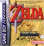 Jaquette The Legend of Zelda : A Link to the Past / Four Swords