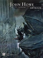 Couverture John Howe Artbook