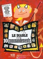 Affiche Le Diable et les Dix Commandements
