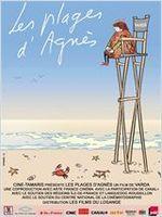 Affiche Les Plages d'Agnès