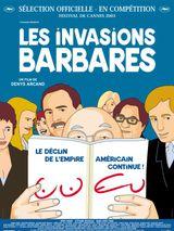 Affiche Les Invasions barbares