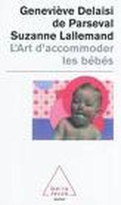 Couverture L'art d'accomoder les bebes
