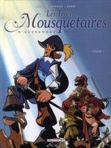 Couverture Les Trois Mousquetaires d'Alexandre Dumas, tome 1
