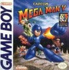 Jaquette Mega Man V