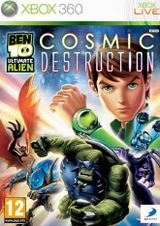 Jaquette Ben 10 : Ultimate Alien - Cosmic Destruction