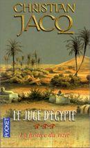 Couverture La Justice du vizir - Le Juge d'Égypte, tome 3