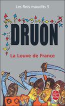 Couverture La Louve de France - Les Rois maudits, tome 5