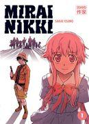 Couverture Mirai Nikki