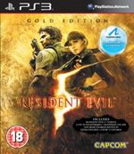 Jaquette Resident Evil 5 : Gold Edition Move Edition