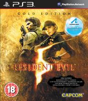 Jaquette Resident Evil 5: Gold - Move Edition