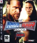 Jaquette WWE Smackdown Vs. Raw 2009