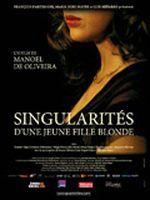 Affiche Singularités d'une jeune fille blonde
