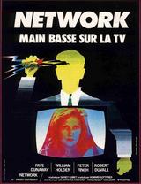 Affiche Network, main basse sur la TV