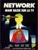 Affiche Network - Main basse sur la TV