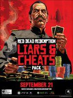 Jaquette Red Dead Redemption : Pack menteurs et tricheurs