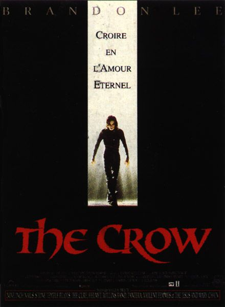 film critique the crow Music, film, tv and political news coverage  on march 31, 1993, eight days  before the crow was due to wrap, lee was accidentally shot.