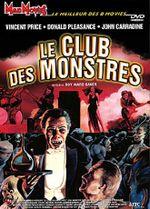 Affiche Le club des monstres