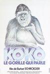 Affiche Koko, le gorille qui parle