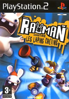 Jaquette Rayman contre les Lapins Crétins