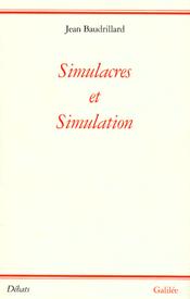 Couverture Simulacres et Simulation