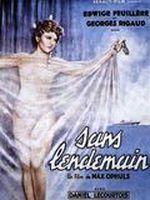 Affiche Sans Lendemain
