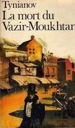 Couverture La Mort du Vazir-Moukhtar