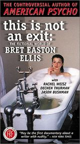 Affiche This Is Not an Exit : The Fictional World of Bret Easton Ellis