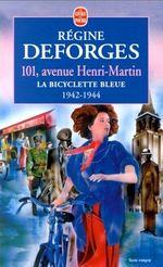 Couverture 101, avenue Henri-Martin (1942-1944) - La Bicyclette bleue, tome 2