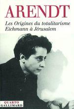 Couverture Origine du totalitarisme