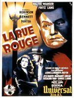 Affiche La Rue Rouge