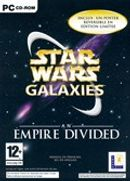 Jaquette Star Wars Galaxies : An Empire Divided
