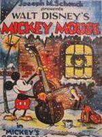 Affiche Mickey père noel