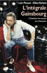 Couverture L'Intégrale Gainsbourg