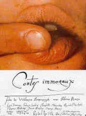Affiche Contes immoraux
