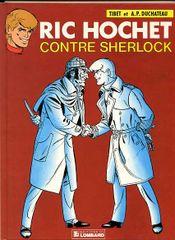 Couverture Ric Hochet contre Sherlock - Ric Hochet, tome 44