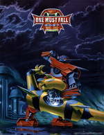 Jaquette One Must Fall : 2097