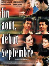 Affiche Fin août, début septembre