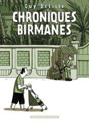 Couverture Chroniques birmanes