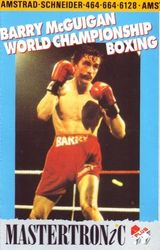Jaquette Barry McGuigan's World Championship Boxing